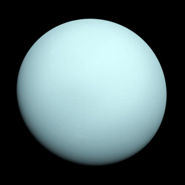 Graphic of Uranus planet